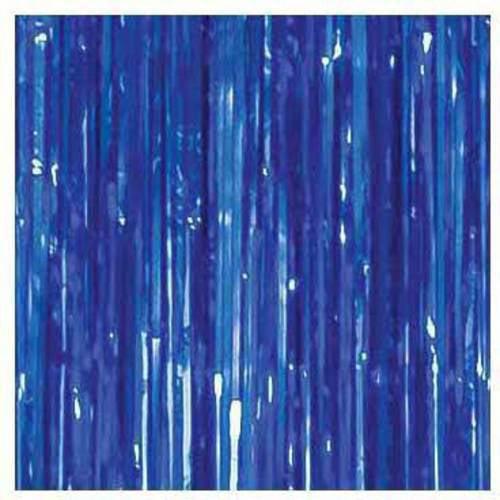 Foil Curtain, 3' x 8', Dark Blue