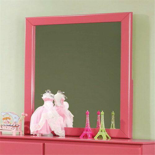 Harriet Bee Segars Kids Rectangular Dresser Mirror