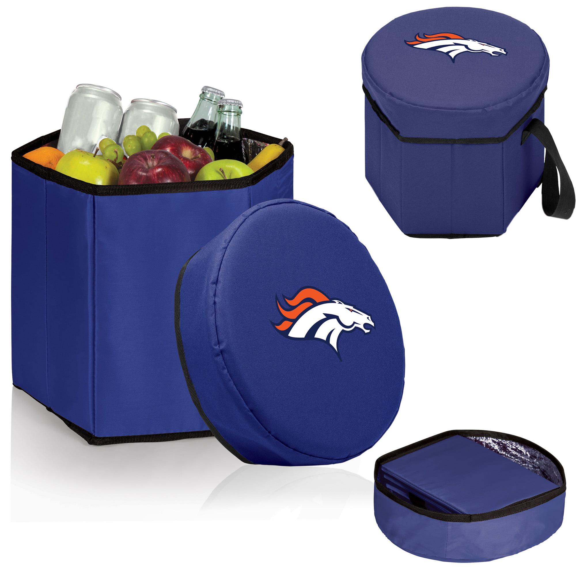 Denver Broncos 12 Quart Bongo Cooler - Navy - No Size