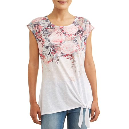 Women's Side Tie Sublimation Tank Top