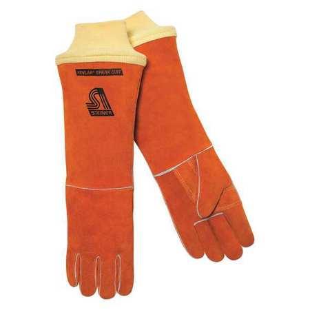 """STEINER Welding Gloves,Stick,18"""",L,PR 21918-KSC-L"""