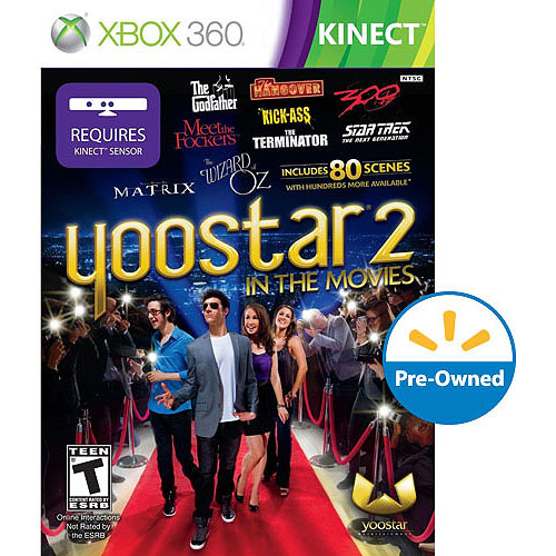 Yoostar 2: In The Movies (Xbox 360 Kinect) - Pre-Owned