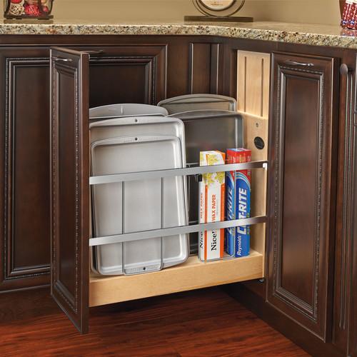 Rev-A-Shelf 5'' Tray Divider/Foil and Wrap Soft-Close Organizer