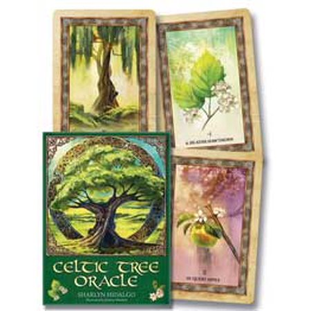 Tarot Cards Celtic Tree Oracle Deck Access Age Old Loving Guidance Ancient Wisdom Beautiful Sacred World of Nature Fortune Telling Tool by Sharlyn Hidalgo - Mysterious Fortune Cards