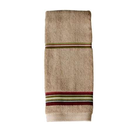 SKL Home Madison Stripe Hand Towel, Red, 16