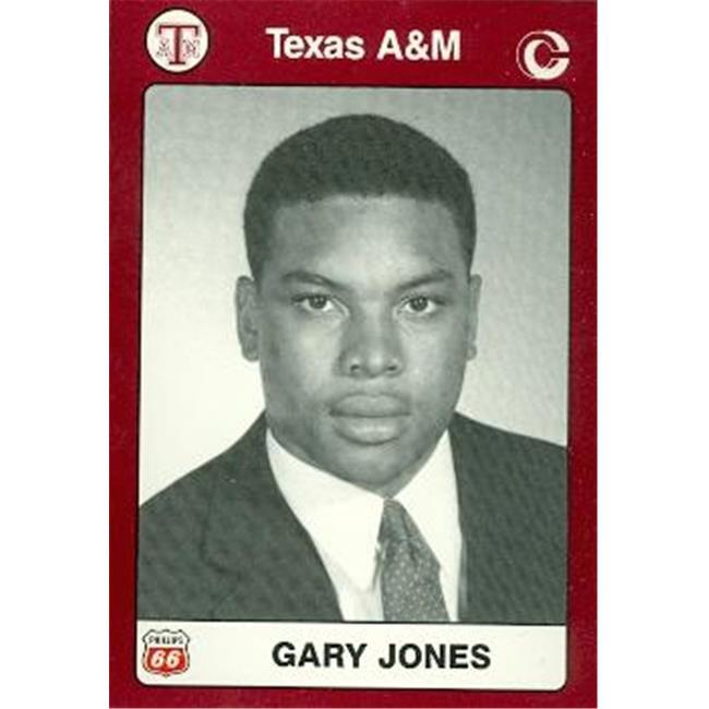 Gary Jones Football Card (Texas A&M) 1991 Collegiate Collection No. 59