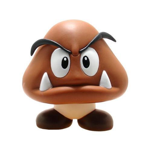 Super Mario Brothers 5 Quot Pvc Figure Goomba Walmart Com