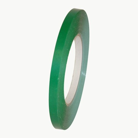 JVCC BST-24 Bag Sealing Tape: 3/8 in. x 180 yds. (Dark Green) Bag Neck Sealing Tape