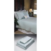 Home Source 51500CKN01 100 Percent Bamboo Cal King Fitted Sheet - Ivory