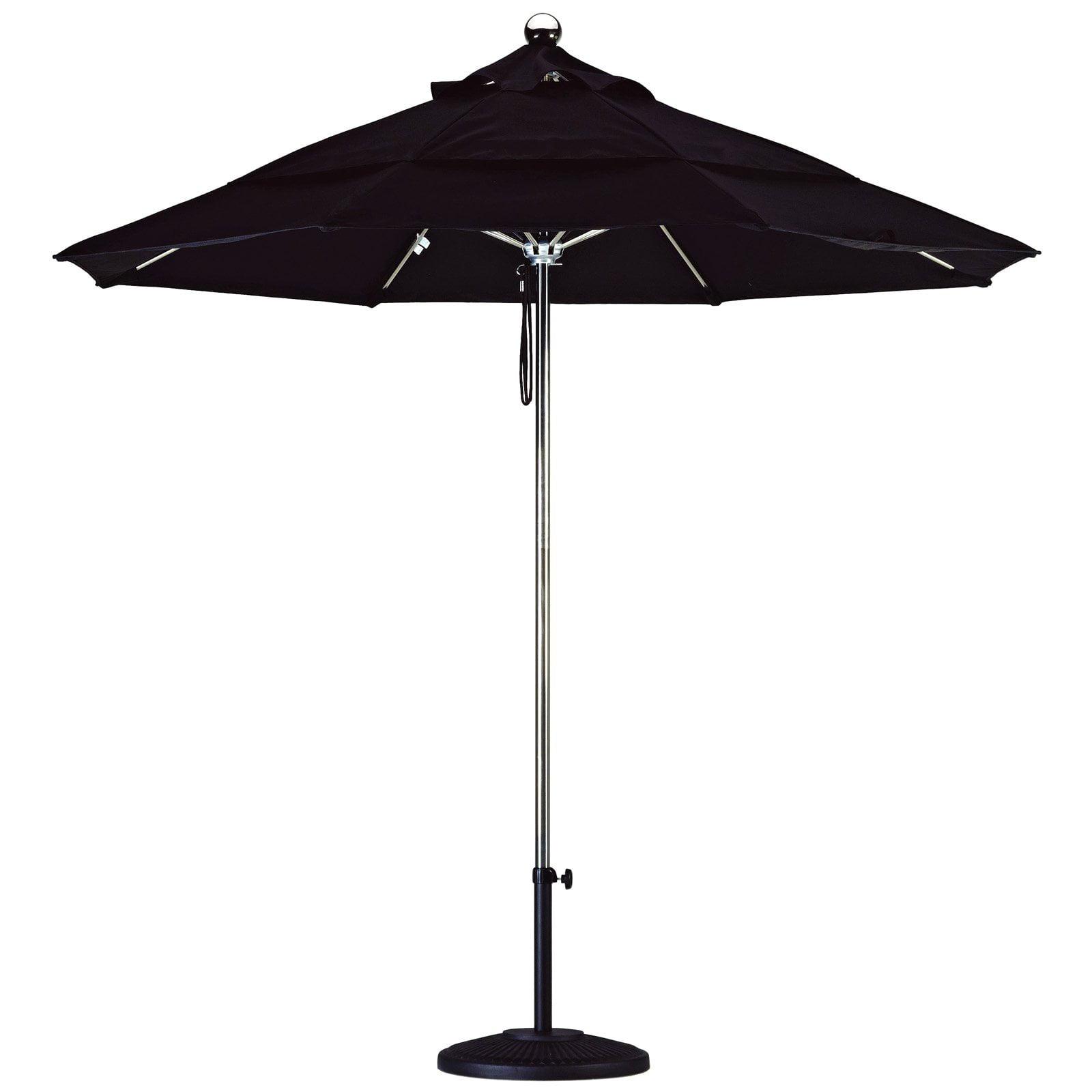 California Umbrella 9-ft. Steel and Fiberglass Market Umbrella