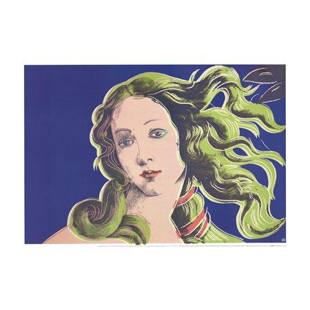 ANDY WARHOL Birth of Venus-Purple 27.5