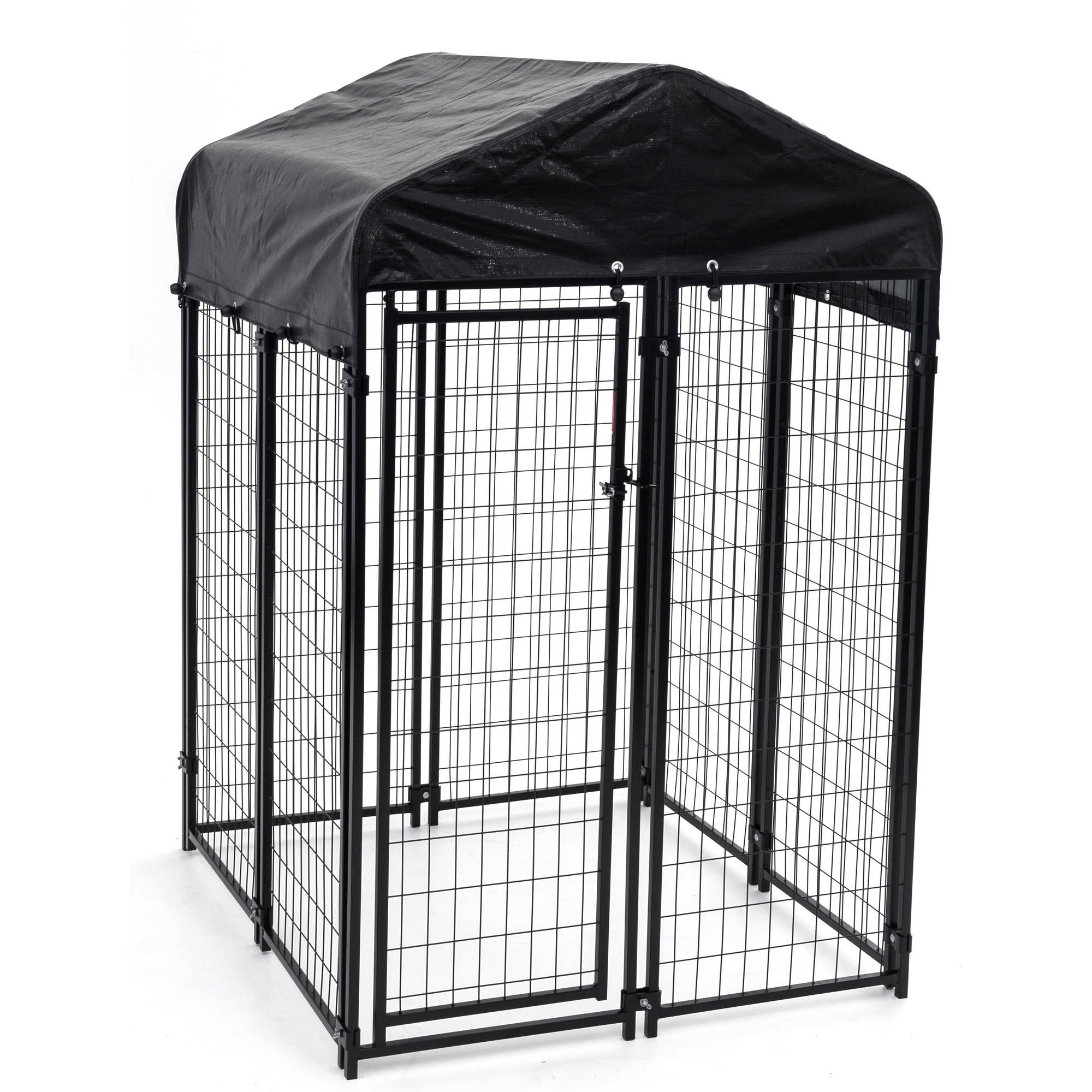Lucky Dog Welded Wire Uptown Dog Kennel, 6'x 4' x4'