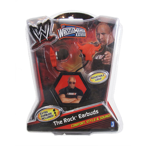 WWE Ear Buds, The Rock