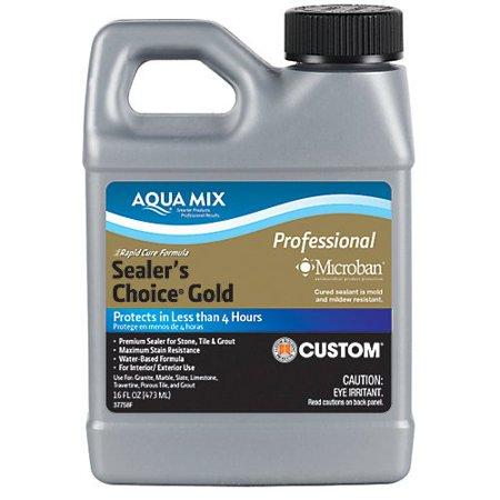 - Sealer's Choice Gold - Pint, Aqua Mix Sealer's Choice Gold is a no-sheen, natural look, penetrating sealer..., By Aqua Mix Ship from US