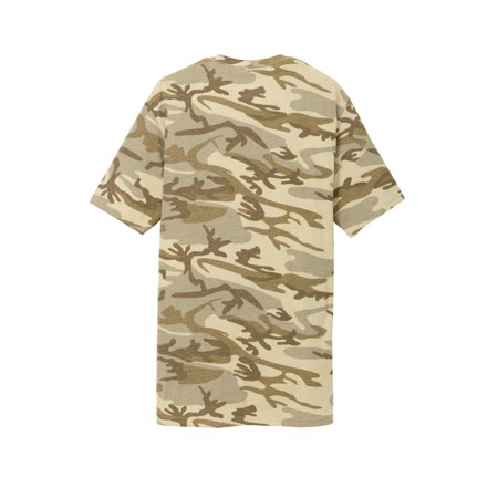 Gravity Threads Mens Core Cotton Camo T-Shirt - Winter Camo - 3X-Large - image 1 de 2