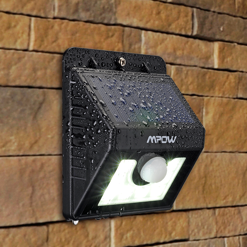 Mpow super bright 8 led solar powered wireless security light mpow super bright 8 led solar powered wireless security light weatherproof outdoor motion sensor lighting with 3 intelligent modes for outdoors walmart mozeypictures Image collections