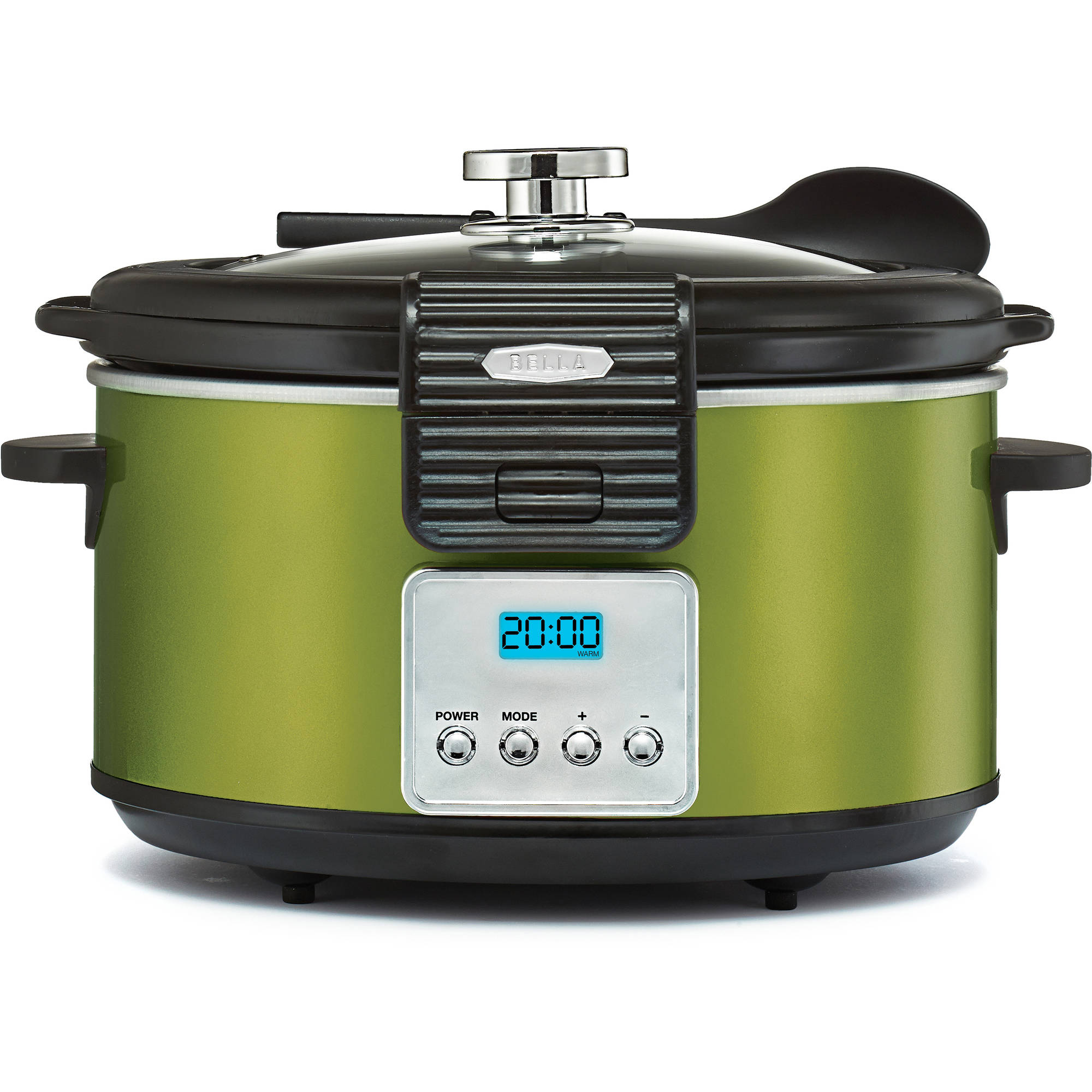 Bella Linea Collection 5QT Programmable Slow Cooker, Walmart Exclusive