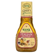 Salad Dressing & Toppings: Ken's Steakhouse Chef's Reserve