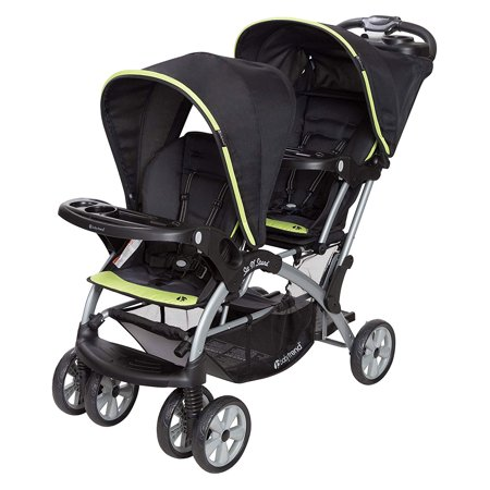 Baby Trend Sit N Stand Double Stroller, Optic