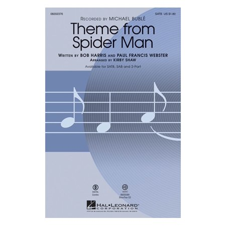 Hal Leonard Theme from Spider Man 2-Part by Michael Buble Arranged by Kirby Shaw - Halloween Music Michael Myers Theme