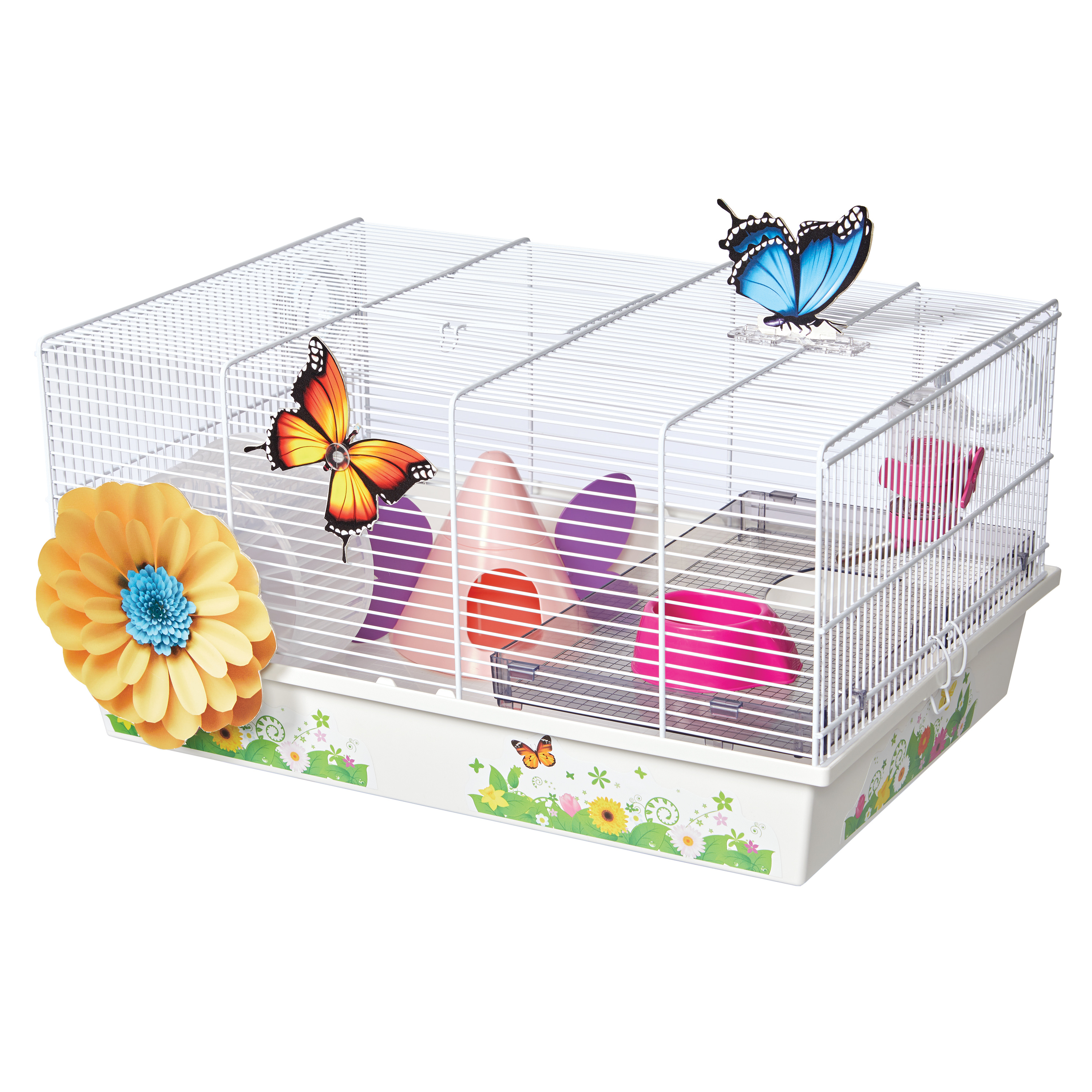 Butterfly Hamster Cage
