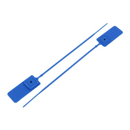 100pcs 180mm Long Nylon 18mm x 24mm Wire Cord Label Cable Tie Strap Zip Blue - image 1 de 3