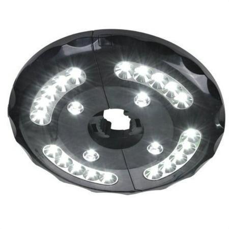 av prime inc lx-99905 patio umbrella accessories wireless 24 led light for outdoor use, patio umbrellas, or camping tents ()