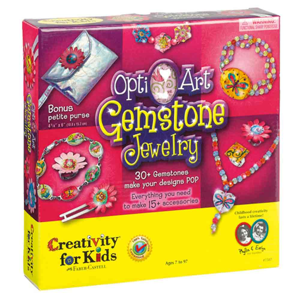 Opti-Art Gemstone Jewelry Kit