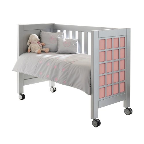 Collection Rosabel Acuario Wooden Portable Crib with Matress by Collection Rosabel