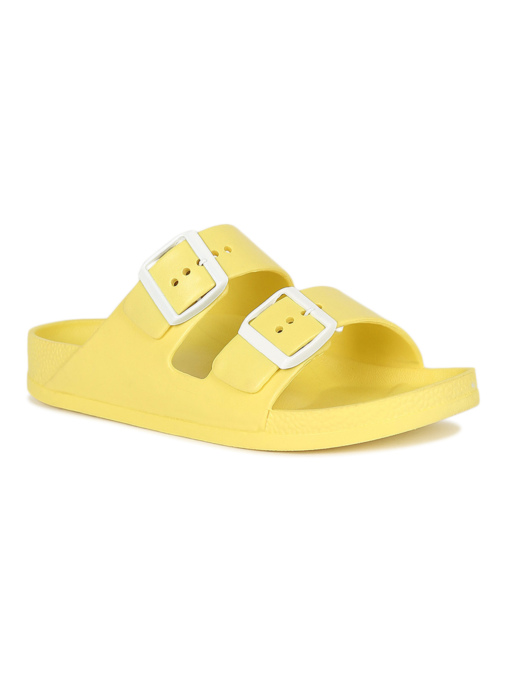 EVA Adjustable Double Buckle Slip-on Flat Slides with Arch Support Lightweight and Waterproof SEVEGO Women/'s Comfort Footbed Sandals