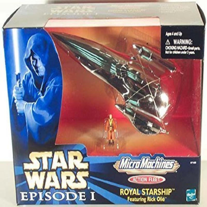 Hasbro Star Wars Micro Machines Action Fleet Royal Starsh...