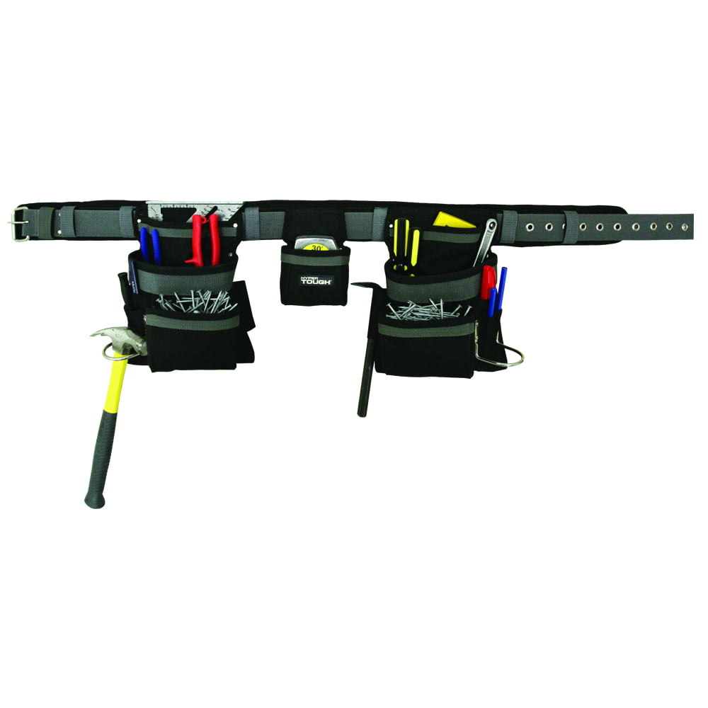 Small 26-30 Rack-A-Tiers 43241 Electrician/'s Combo Belt /& Bags