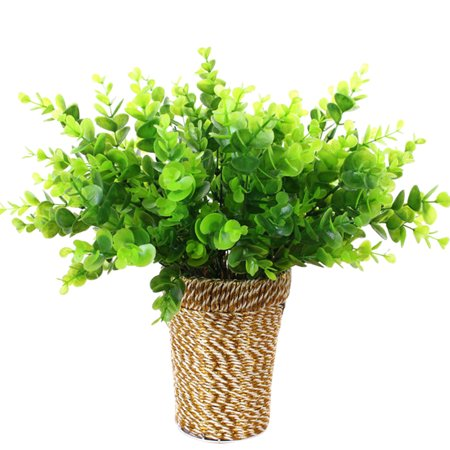 Holiday Clearance Artificial Fake Plastic Eucalyptus Grass Leaves Plant For Home Office - Fake Intestines