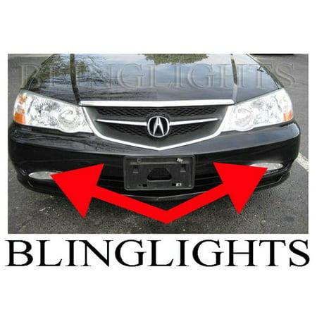 2002 2003 Acura TL Type-S TL-S TLS A-Spec Xenon Fog Lamps Driving Lights Foglamps Foglights