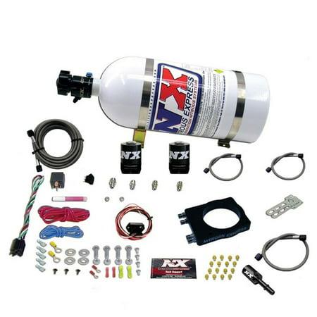 NX Express Hemi Plate Wet Nitrous System (50-400HP) W/ 10LB Bottle #20944-10 ()
