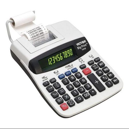 Victor 1310 Commercial Calculator  Printing  9 1 2In L