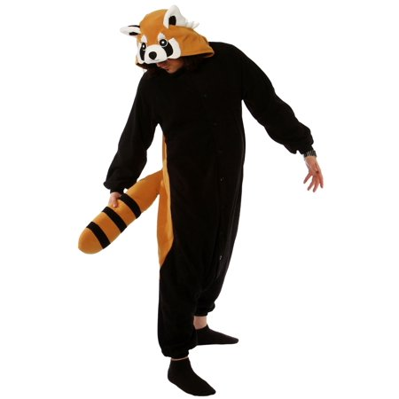 Adult Red Panda Kigurumi - Black Cat Kigurumi