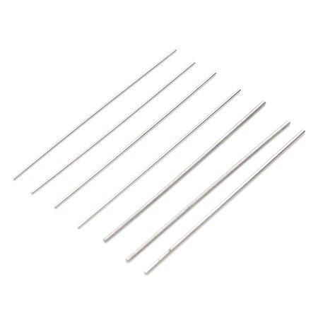 22Pcs/Set Airbrush Spray Nozzle Cleaning Brush Repair Tool Kit Needle & Brush Set Cleaner - image 4 de 12