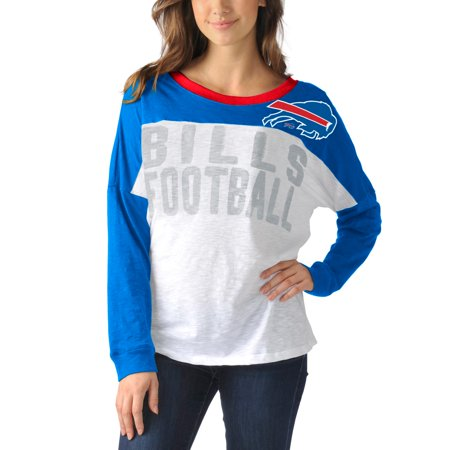 - Buffalo Bills Women's Ralph Long Sleeve T-Shirt - Royal