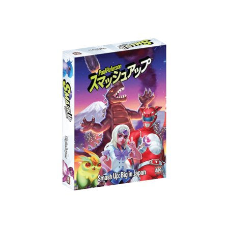 Alderac Entertainment Group (AEG) Smash Up: Big in Japan Expansion Card Game (Youth Group Halloween Games)