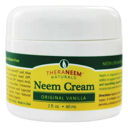 Organix South - TheraNeem Organix Neem Cream Original Vanilla - 2 oz.
