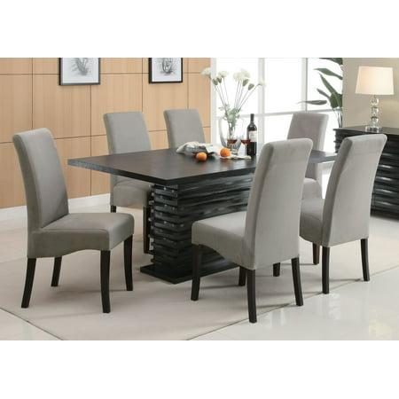 Coaster Company Stanton Contemporary Rectangular Dining Table Black