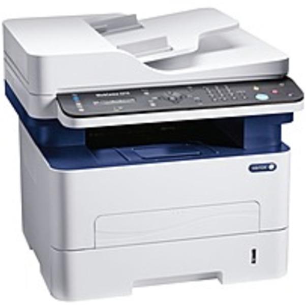Refurbished Xerox WorkCentre 3215/NI Laser Multifunction Printer - Monochrome - Plain Paper Print - Desktop - Copier/Fax/Printer/Scanner - 27 ppm Mono Print - 4800 x 600 dpi Print - Manual Duplex