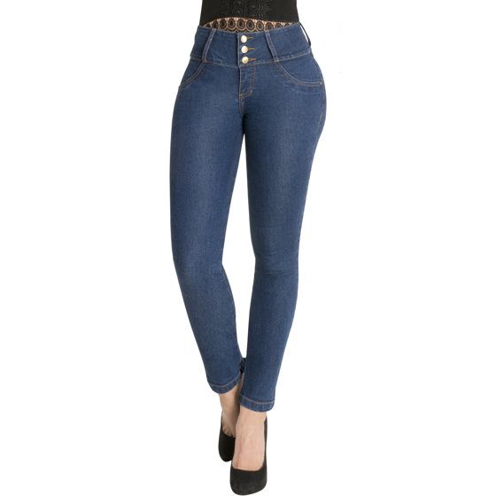 2f1abbf312 Fiorella Shapewear - Women s Butt Lifter Skinny Jeans Levanta Cola ...