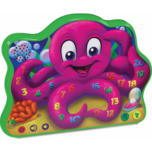 The Learning Journey Touch and Learn Series, Count and Learn Octopus