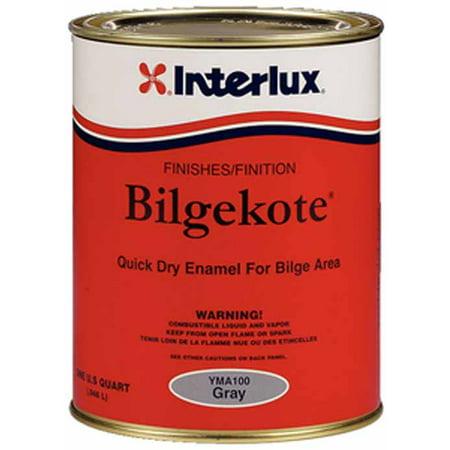 Interlux YMA100Q  YMA100Q; Bilgekote Gray-Quart