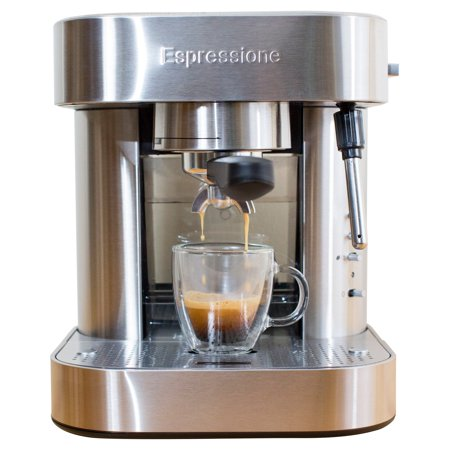 Espressione Stainless Steel Automatic Pump Espresso Machine with Thermo