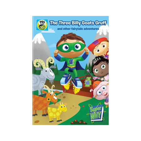 Super Why: Three Billy Goats Gruff & Other Fairy Tale Adventures (DVD) (Super Why Halloween Part 1)