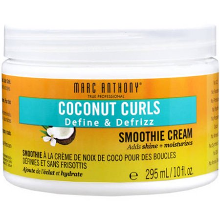 Marc Anthony Coconut Curls Define & Defrizz Smoothie Cream, 10 fl (Marc Anthony Strictly Curls Hair Products Reviews)