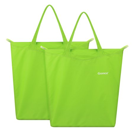 gonex reusable grocery bag shopping tote travel recycle bag
